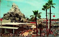 Vtg 1960s Disneyland Postcard - Tomorrowland Terrace 1-340 Unposted