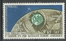 Taaf Fsat Espace Liaison Tv Satellite France Usa Space Link Weltraum ** 1962
