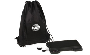 Gator G-Mini-Bone - 3-Pedal Molded Pedalboard with Carry Bag