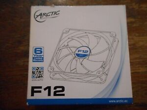 Arctic F12 120mm Case Fan High Performance BRAND NEW