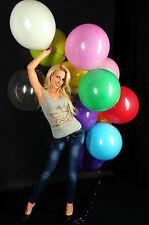 "100 TOLLE 48cm Ø (19"") Luftballons bunt -- 100 x Ballon bunt + !! CATTEX !!"