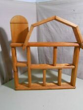 Barn Shaped Shelf with Silo