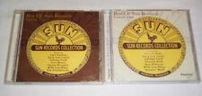 2 x CD - Best of Sun Records Vol.1 + Vol.2 - Cash Perkins Lee Lewis Mann Burgess