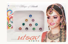 Bindi multicolore Bollywood tikka dot tika gioielli della pelle E2-4 827