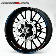 SUZUKI GSXR 600 CUSTOM RIM STRIPES WHEEL DECAL TAPE STICKER