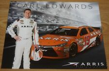 2016 Carl Edwards Arris Toyota Camry NASCAR Sprint Cup postcard