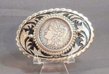 1903 Morgan Silver Dollar Belt Buckle