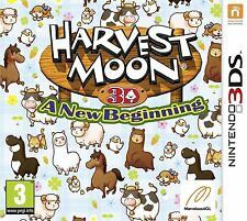Harvest Moon: A New Beginning (Nintendo 3DS) BRAND New SEALED