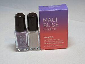 Avon Mark Maui Bliss Nailed It 2 mini nail Lacquer Cloud Hula polish mani pedi;;