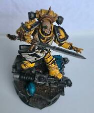 SIGISMUND FORGEWORLD Imperial Fists FIRST CAPTAIN - VERY WELL PAINTED - 40K