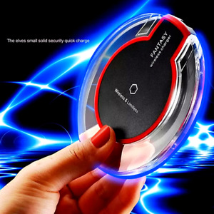 Cargador Inalambrico Rapido Carga Para iPhone 12 11 PRO MAX XS X Samsung Galaxy
