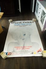 MYLENE FARMER TIMELESS PARIS BERCY 2013 4x6 ft Shelter Original Concert Poster