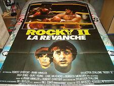 AFFICHE   STALLONE / ROCKY 2 LA REVANCHE / BOXE