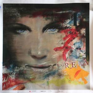 Giampietro Cavedon serigrafia DREAM 70x70 firmata ritoccata a mano