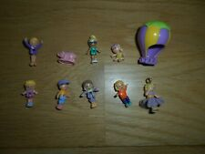 VINTAGE POLLY POCKET SPARE DOLLS FIGURES FOR PLAYSETS X10 LOT 5