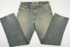 """Diesel Industries Kratt Distressed Whisker Men's Jeans Tag 36 (Actual 36 x 33"""")"""