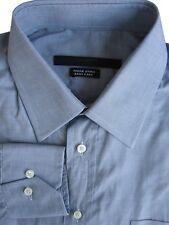 UNGARO camicia da uomo 15.5 M Grigio Easy Care & Leggero