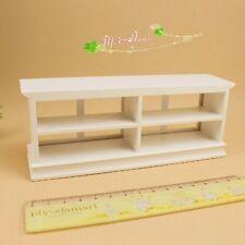 1:12 dollhouse furniture  miniature cabinet simple and elegant white cake shop