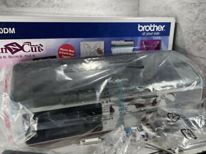 NEW Brother ScanNCut CM100DM Fabric Paper Cutting Machine Scrapbook Quilting