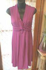VINTAGE Style ~ ROCKMANS ~ GRECIAN Style ~ Magenta DRESS * Size S * SALE !! *