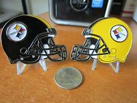 Pittsburgh Steelers NFL Football Team / Throwback Helmet Challenge Coin