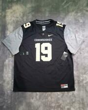 Men's Nike NCAA Vanderbilt Commodores Untouchable Football Jersey No #19 Black