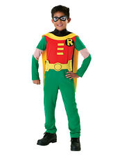 """Teen Titans Kids Robin Classic Costume,Large,Age 8-10, HEIGHT 4' 8"""" - 5'"""