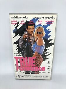 TRUE ROMANCE VHS RARE CLASSIC Very Good Condition Free Tracked Shipping