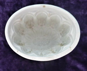Vintage Stoneware ceramic Mould for jelly or bird/ game pate (21) sunflower