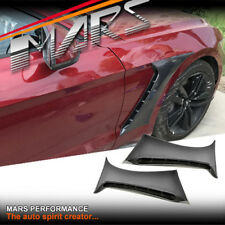 Shelby GT350 Style Front Side Fender Guard Vents for Ford Mustang FM 2015-2107