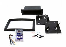 Radio Replacement Dash Mount Kit 1 or 2-DIN w/Harness/Antenna for Subaru