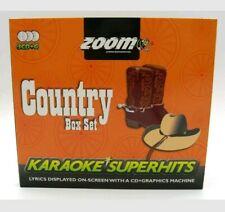 Zoom Karaoke CD+G - Classic Country Superhits - Triple CD+G Karaoke Disc Pack