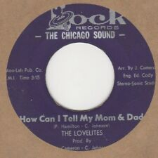 Lovelites How Can I Tell My Mom & Dad Lock L723-7817 Soul Northern Motown