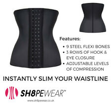 2cc253450c Classic Latex Waist Trainer Sports Corset Girdle Bodyshaper Cincher  Shapewear Medium