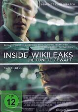DVD - Inside Wikileaks - Die fünfte Gewalt - Benedict Cumberbatch & Daniel Brühl
