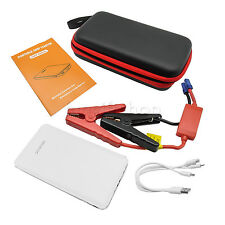 Jump Starter Power Bank 12V Portable Charger Auto Car Battery Booster LED White