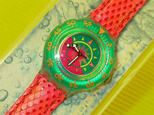 Swatch Scuba TIPPING COMPASS in NEU & OVP + neuer Batterie SDN111