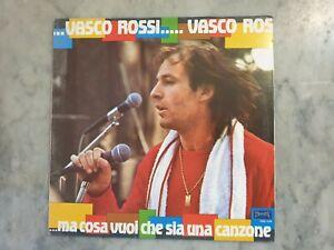 VASCO ROSSI MA COSA VUOI CHE SIA UNA CANZONE 1982 PHOENIX LP