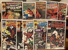 Amazing Spiderman - LOT Of 10 Issues #314-326   McFarlane - Nice Books !🔥 🔑