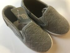 Baby Boys Slip On Shoes   Mothercare   Grey Shoes Pumps   Various Sizes