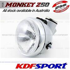 KDF HEADLIGHT LIGHT SPEEDO METER SILVER GREY WHITE FOR HONDA MONKEY Z50 Z50J