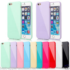 for Apple iPhone 7 Case GEL TPU Soft Cover Skin Screen Protector Turquoise