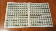 Francobolli della Repubblica italiana dal 1956 al 1964, tema arte, artisti
