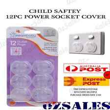 12x Baby Child Safety Power Board Covers Protective Socket Outlet Point Plug 2