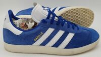 Adidas Gazelle Low Suede Trainers CQ2800 Royal Blue/White UK8/US8.5/EU42