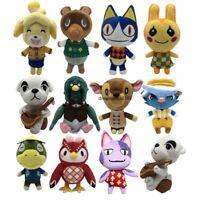 Animal Crossing Celeste Shizue Isabelle KK Slider Tom Nook Plush Toy Doll Gift