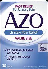 Azo, Urinary Pain Relief, 30 Tablets - ORIGINAL - UK Stock