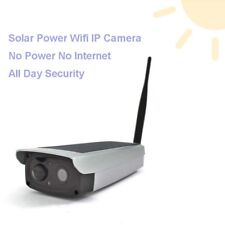 Wireless Outdoor Solar Power Security IP Camera Night Vision WiFi 4G/3G/2G Phone