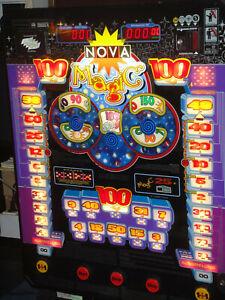 Spielautomat Merkur Nova Magic, spielt mit Euro ! Top!