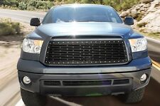 Custom Grille for 10-13 Toyota TRD Tundra Part Steel Aftermarket Grill Kit Black